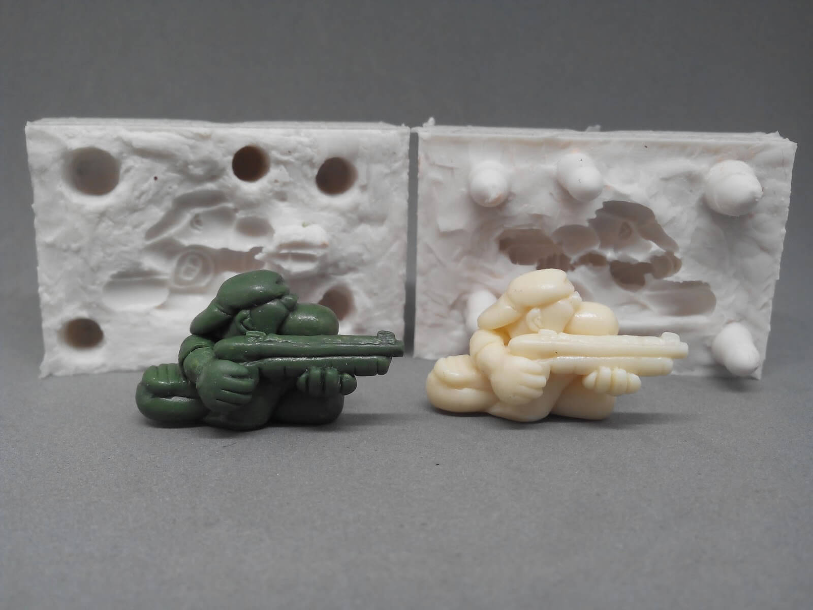 BORRAR! moldes resina